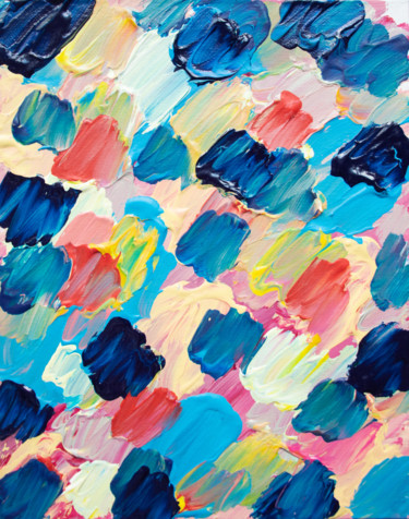 Abstract Painting, acrylic, abstract, artwork by M Mystery Artist