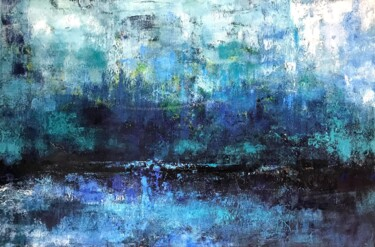 """Painting titled """"Stillpoint"""" by Monica Callaghan, Original Art, Oil Mounted on Stretcher frame"""