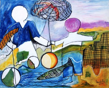 31.9x39.4x0.8 in ©2001 by Mariam Mouliets