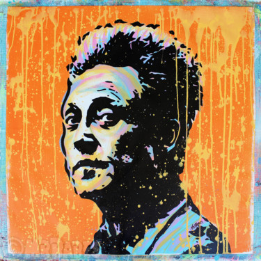 """Painting titled """"Christopher Walken"""" by Mr.Babes, Original Art, Acrylic"""