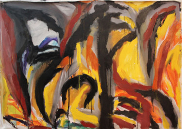 """Painting titled """"Sin Titulo"""" by Mushu Painter, Original Art, Oil"""