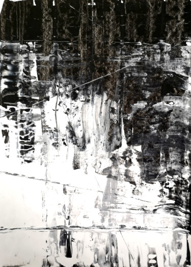 """Painting titled """"On the Glacier at N…"""" by Dmitri Matkovsky, Original Art, Acrylic"""