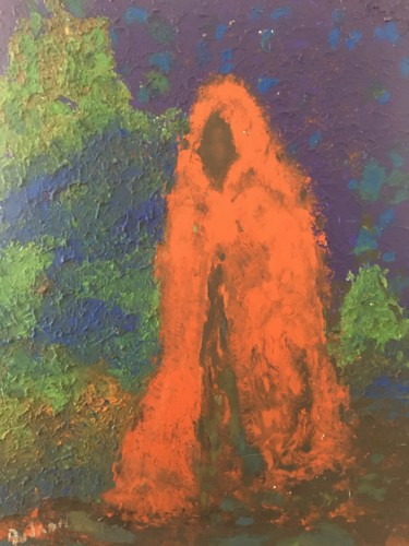 Pop Culture Painting, oil, impressionism, artwork by Audran