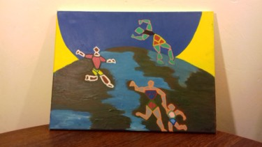 Painting, acrylic, artwork by Espin