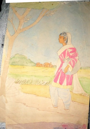 14x10 in ©1980 by nasreen suhail