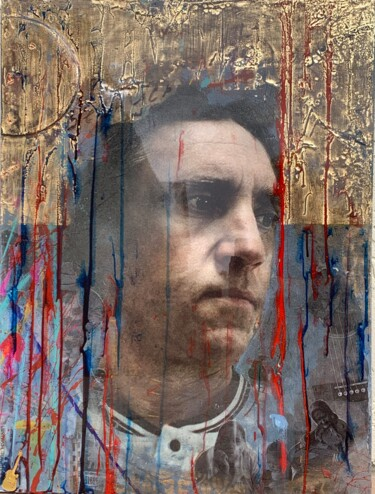 """Collages titled """"VYSOTSKY (work from…"""" by Natali Shepeleva, Original Art, Collages"""