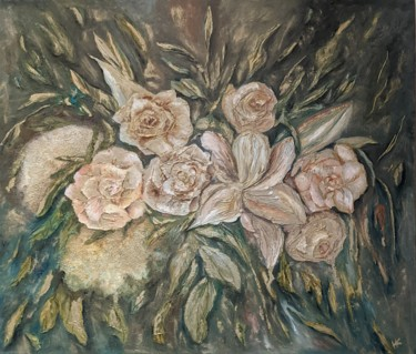 Flower Painting, oil, classicism, artwork by Natalya Kupreychenko