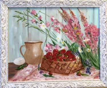 Painting, oil, impressionism, artwork by Ната Владимирская
