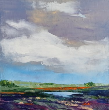 """Painting titled """"Before the storm"""" by Natalia Cherepovich, Original Art, Oil"""