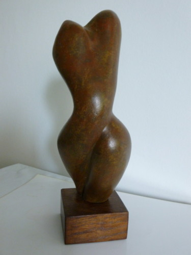 Sculpture, plaster, abstract, artwork by Nr