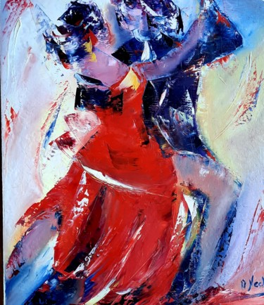 Painting, oil, figurative, artwork by Annie Nectoux