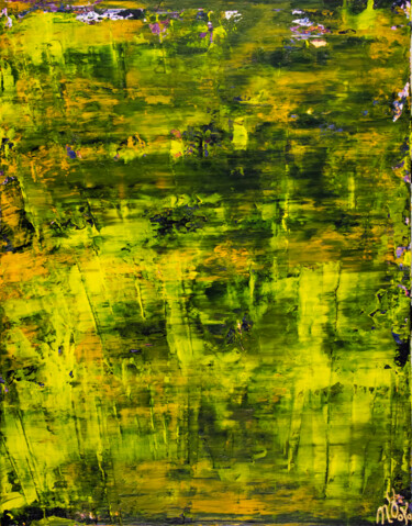 """Painting titled """"Sunny forest canopy"""" by Nestor Toro, Original Art, Acrylic"""