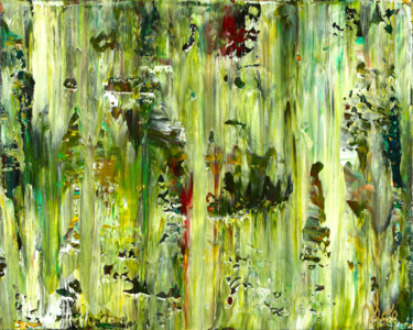 """Painting titled """"Forest and light tr…"""" by Nestor Toro, Original Art, Acrylic"""