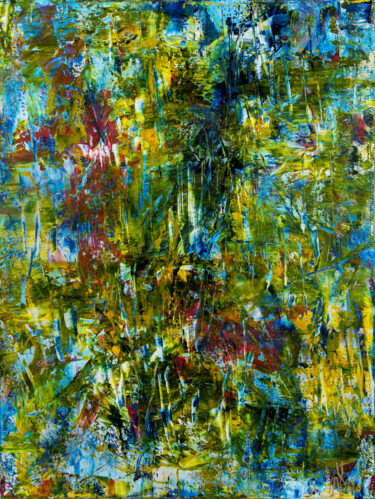 """Painting titled """"A forest song (Face…"""" by Nestor Toro, Original Art, Acrylic"""