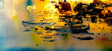 """Painting titled """"Sunset at the Chiem…"""" by Nicole Cecil B, Original Art, Acrylic"""