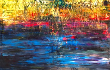 """Painting titled """"Moments"""" by Nicole Cecil B, Original Art, Acrylic"""