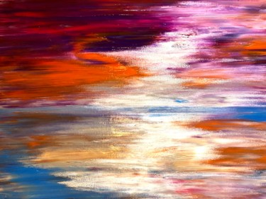 """Painting titled """"Moments #2"""" by Nicole Cecil B, Original Art, Acrylic"""