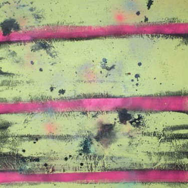 """Painting titled """"mut in pink"""" by Nicole Wucherer, Original Art, Acrylic Mounted on Stretcher frame"""