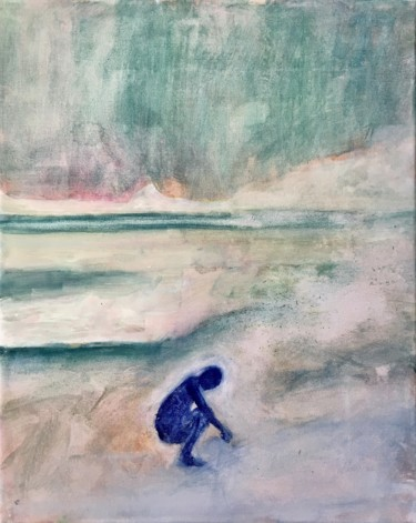 """Painting titled """"Unintelligible story"""" by Niklas Nydahl, Original Art, Watercolor"""