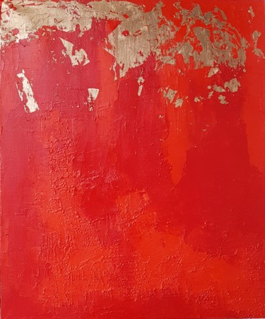 Painting, acrylic, abstract, artwork by Nathalie Newman