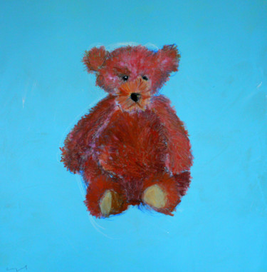 """Painting titled """"NOUNOURS"""" by Norbert Engel, Original Art, Acrylic Mounted on Stretcher frame"""