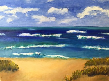 Painting, oil, expressionism, artwork by Noreen Schumann