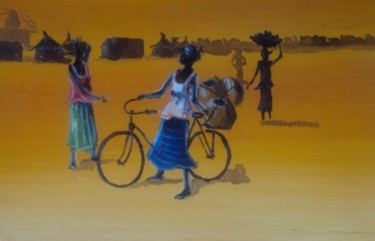 8.7x13 in ©2010 by Noufou Kabore