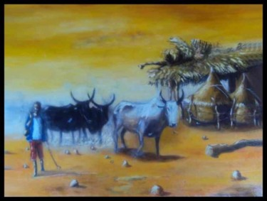19.7x25.6 in ©2010 by Noufou Kabore