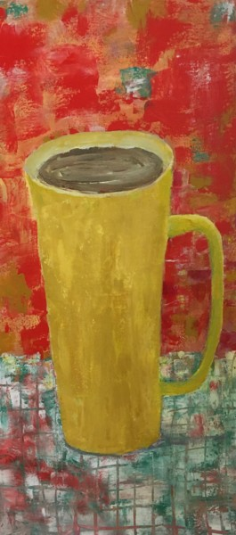 """Painting titled """"Hot Chocolate"""" by Maria Rogers, Original Art, Acrylic"""