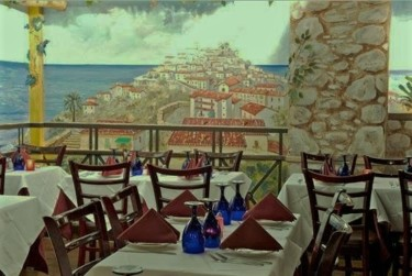 """Painting titled """"Altomonte in south…"""" by Davide Rodoquino, Original Art, Acrylic"""