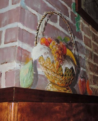 """Painting titled """"Trompe l'oeil with…"""" by Davide Rodoquino, Original Art, Acrylic"""