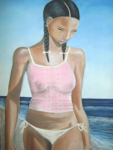 18x24 in ©1999 by Odinel Pierre  Junior