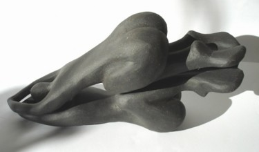 """Sculpture titled """"""""Praying to one´s g…"""" by Mikala Lykke, Original Art,"""