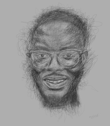 """Painting titled """"Something out of No…"""" by Ogundare Ayomide, Original Art, Pencil"""