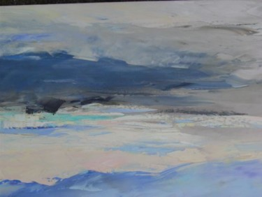 Beach Painting, artwork by Marie-France Oogwit