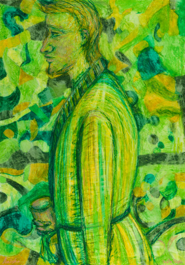 """Drawing titled """"In The Morning : 39…"""" by Pamela Rys, Original Art, Pastel"""