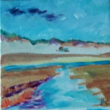 Painting, acrylic, fauvism, artwork by Pascale Coutoux