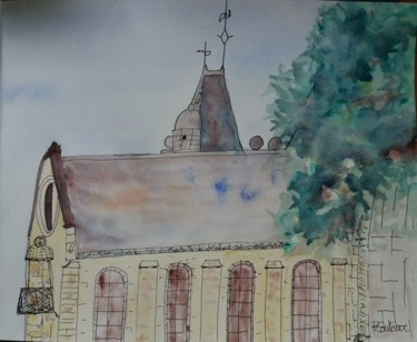Painting, watercolor, illustration, artwork by Pascale Coutoux
