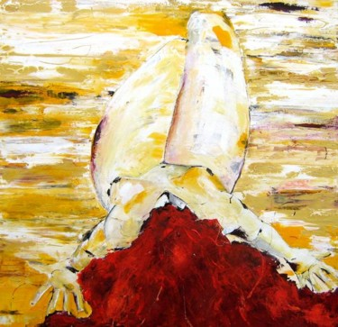 """39.4x39.4 in ©2008 by Pascal Toublanc """"Scual"""""""