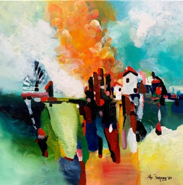 27.6x27.6x0.8 in ©2020 by Mo Tuncay (Paschamo)