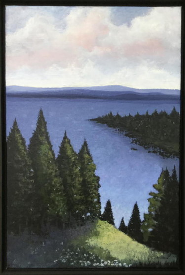 """Painting titled """"I Can See Forever"""" by Pam Carlson, Original Art,"""