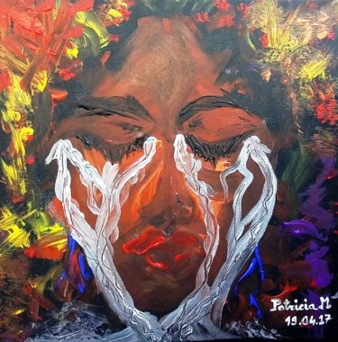 """Painting titled """"Rage !"""" by Patricia M., Original Art,"""