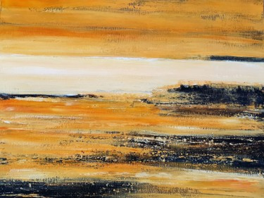 """Painting titled """"Horizons"""" by Patriciachevalblanc, Original Art, Acrylic"""