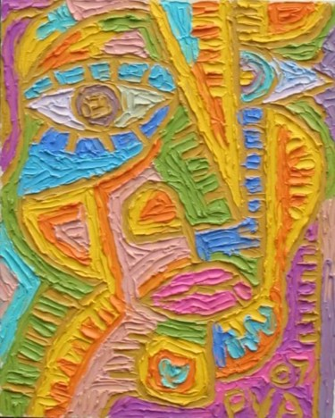 """Painting titled """"Untitled 3"""" by Paul Arenas, Original Art,"""