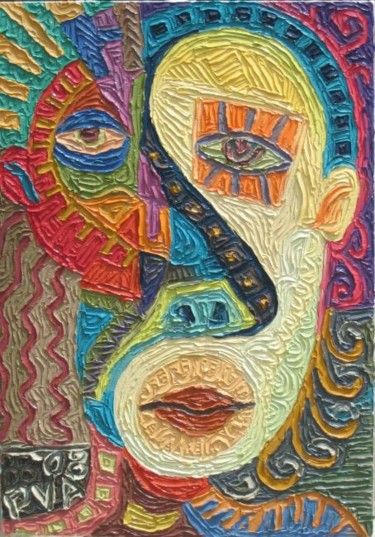 """Painting titled """"Kapoy"""" by Paul Arenas, Original Art,"""