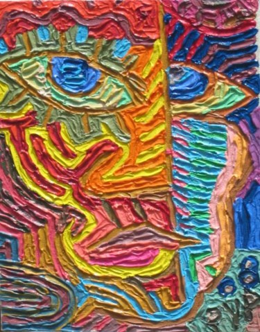 """Painting titled """"01 Untitled"""" by Paul Arenas, Original Art,"""
