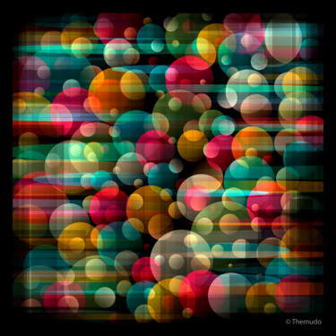 """Digital Arts titled """"Party Stage"""" by Paulo Themudo, Original Art, Digital Painting"""
