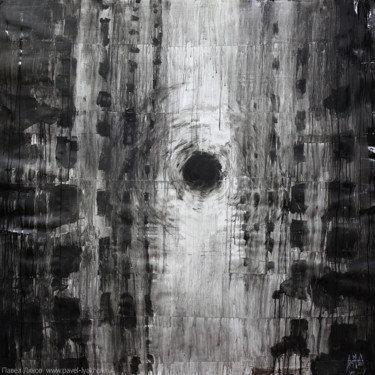 """Painting titled """"Horror Town"""" by Pavel Lyakhov, Original Art, Acrylic"""