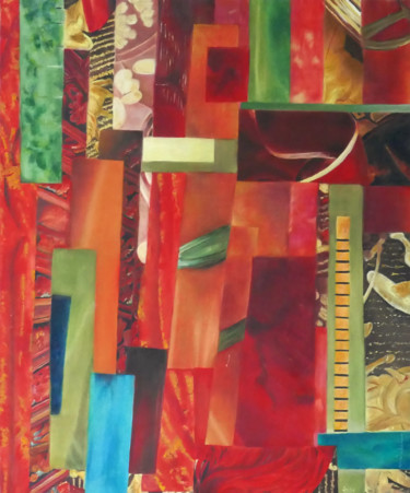 Painting, oil, abstract, artwork by Jade