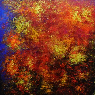 """Painting titled """"Abstract,blue,red,o…"""" by Artstage, Original Art, Acrylic"""